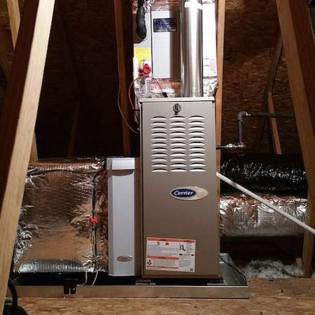 We offer a variety of heating services